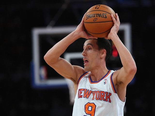 New York Knicks' Pablo Prigioni in action against Chicago Bulls on December 11, 2013