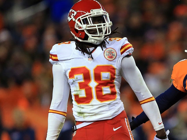 Ron Parker #38 of the Kansas City Chiefs in action against Denver Broncos on November 17, 2013