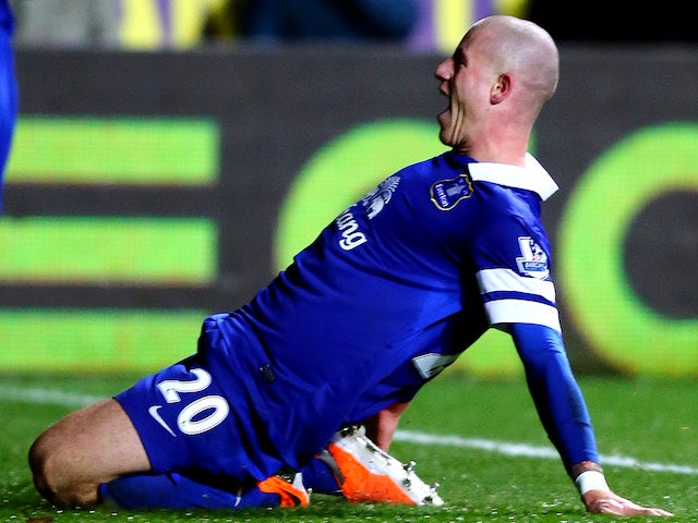 Result: Barkley fires Everton into top four