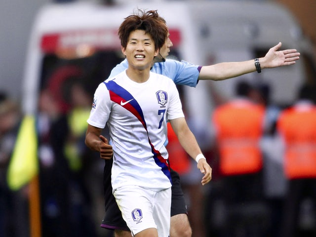 Korea Republic's Ryu Seungwoo reacts during a group stage football match between Cuba and South Korea at the FIFA Under 20 World Cup at the Kadir Has stadium in Kayseri on June 21, 2013