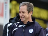 Sheffield Wednesday caretaker manager Stuart Gray smiles before the match against Watford on December 14, 2013