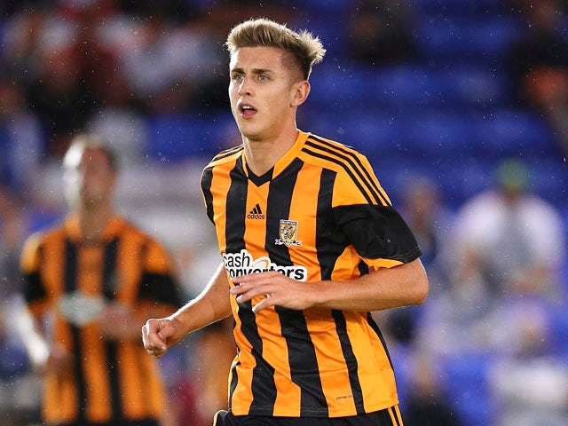 Hull's Tom Cairney in action against Birmingham during a friendly match on July 29, 2013