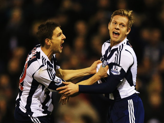 Result: Vydra rescues late WBA point