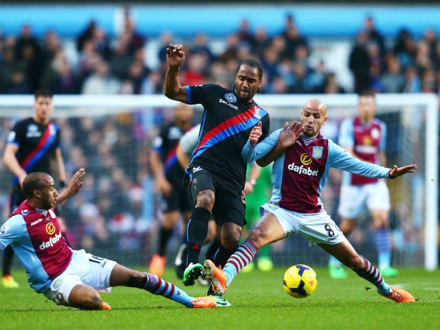 Result: Palace beat Villa late on