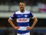 Queens Park Rangers defender Clint Hill looks on during a Championship game on December 3, 2013