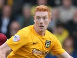 Dave Kitson of Oxford United in action during the Sky Bet League Two match between Oxford United and Northampton Town at Kassam Stadium on October 12, 2013