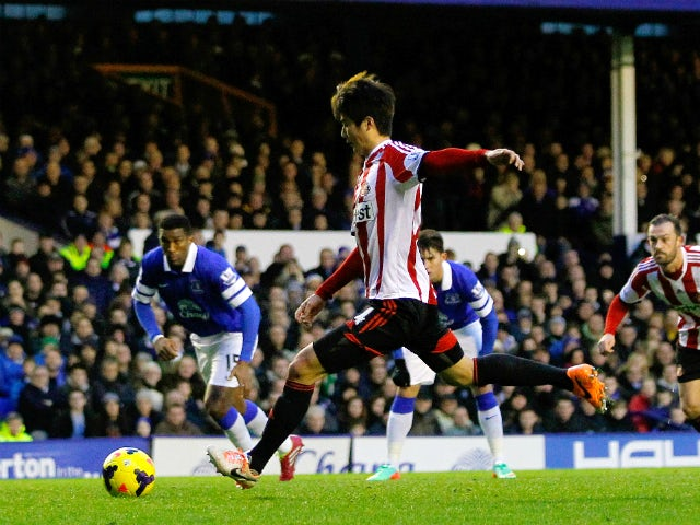 Result: Sunderland earn victory over Everton