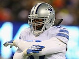 Dallas Cowboys' Jason Hatcher in action against New York Giants on November 24, 2013