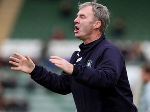 Half-Time Report: Plymouth, Cheltenham level