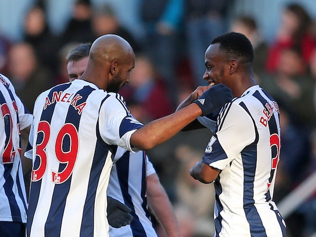 Result: WBA come from behind twice to draw