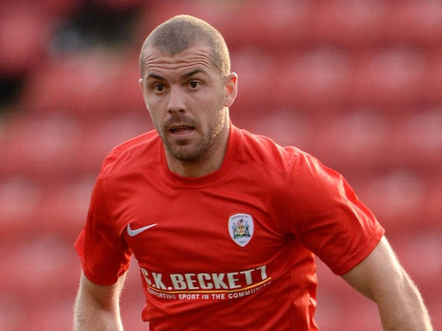 Stephen Dawson of Barnsley during a Pre Season Friendly between Barnsley and Bordeaux at Oakwell Stadium on July 25, 2013