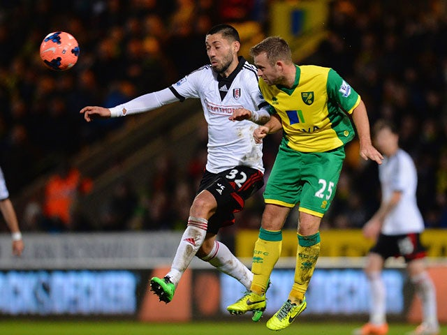 Result: Norwich, Fulham settle for replay