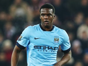 Dedryck Boyata in action for Manchester City on December 3, 2014