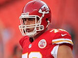 Kansas City Chiefs' Eric Fisher in action against Green Bay Packers on August 29, 2013