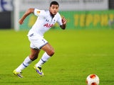 Ezekiel Fryers of Tottenham Hotspur FC in action during the UEFA Europa League group stage match between FC Anji Makhachkala and Tottenham Hotspur FC held on October 3, 2013