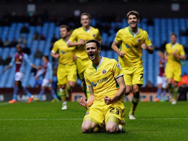 Result: Sheffield United shock Aston Villa