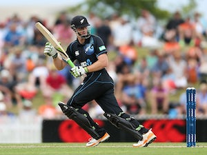 Result: New Zealand set India daunting target