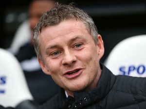 Cardiff manager Ole Gunnar Solskjaer prior to kick-off against Newcastle in their FA Cup third round match on January 4, 2013