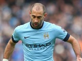 Pablo Zabaleta in action for Manchester City on December 20, 2014