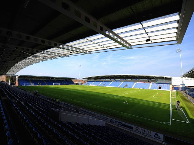 A general view of the Proact Stadium, home of Chesterfield on July 16, 2013
