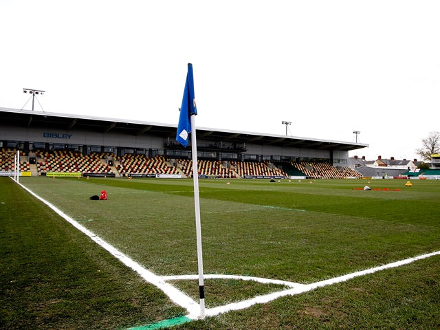 General view of Rodney Parade prior to the Sky Bet League Two match between Newport County AFC and Chesterfield at Rodney Parade on December 01, 2013