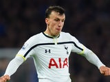 Vlad Chiriches in action for Tottenham Hotspur on December 3, 2014