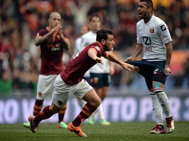 Result: Roma ease past Genoa