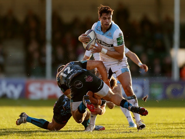 Result: Glasgow come from behind against Exeter