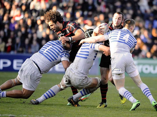 Result: Toulouse march into last eight