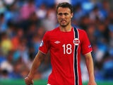 Norway midfielder Magnus Wolff Eikrem during the European U21 Championships in Israel on June 5, 2013