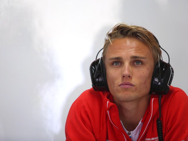 Max Chilton of Great Britain and Marussia prepares to drive during practice for the Brazilian Formula One Grand Prix at Autodromo Jose Carlos Pace on November 22, 2013