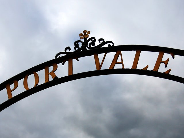 A general view outside the ground before the Sky Bet League One match between Port Vale and Bristol City at Vale Park on October 05, 2013