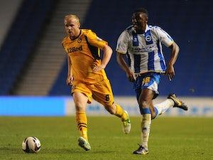 Half-Time Report: Brighton ahead at Vale Park