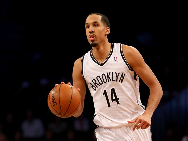 Shaun Livingston #14 of the Brooklyn Nets takes the ball in the second half against the Atlanta Hawks at the Barclays Center on January 6, 2014