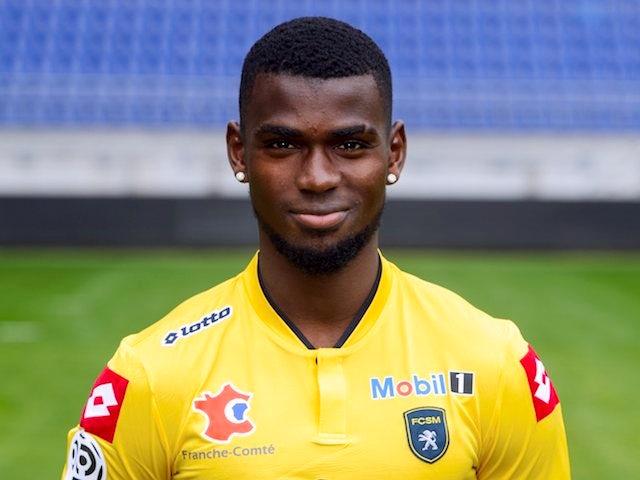 Sochaux forward Abdoul Razza Camara in September 2013