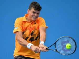 Raonic edges out Gojowczyk in four sets