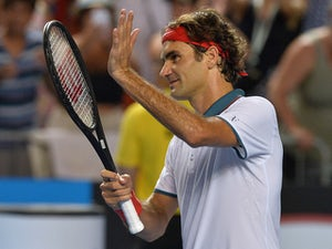 Federer pleased with performance