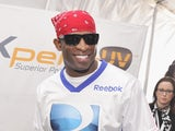 Former NFL/MLB player Deion Sanders attends GBK and DirecTV Celebrity Beach Bowl Thank You Lounge at DTV SuperFan Stadium at Mardi Gras World on February 2, 2013