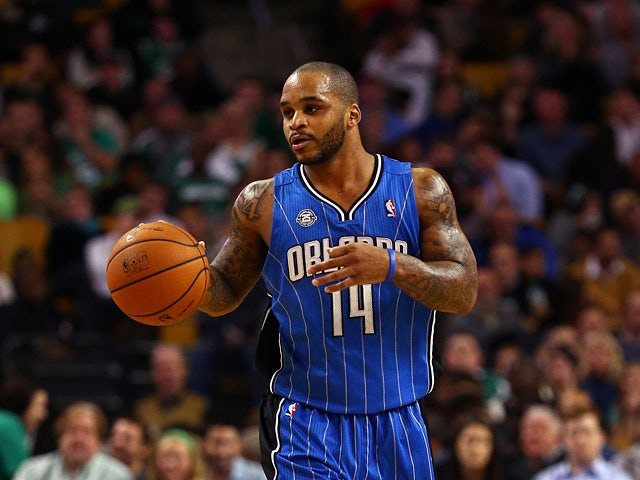 Orlando Magic's Jameer Nelson in action against Boston Celtics on November 11, 2013