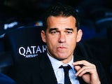 Head coach Luis Garcia Plaza of Getafe CF looks on during the Copa del Rey round of 16 first leg match between FC Barcelona and Getafe CF at Camp Nou on January 8, 2014