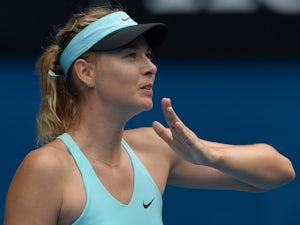 Sharapova pleased by Stuttgart comeback