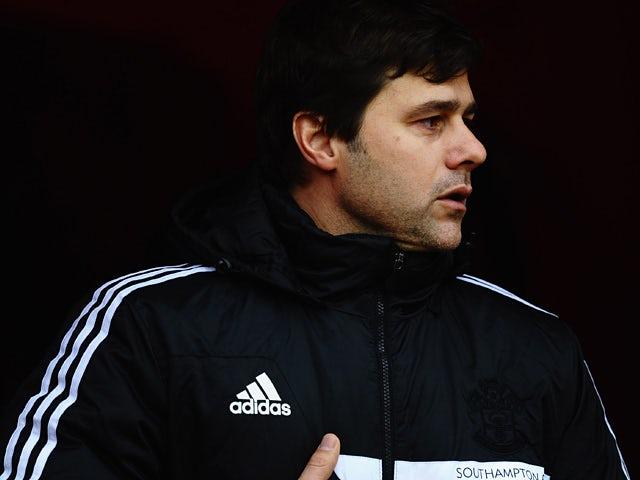Southampton manager Mauricio Pochettino during the match against Sunderland on January 18, 2014