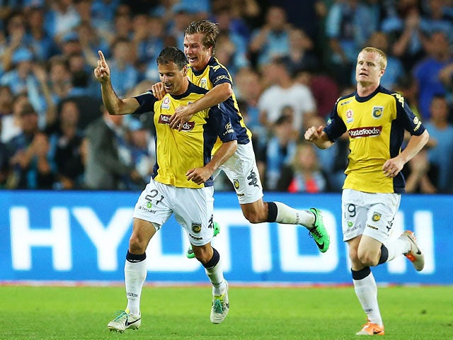 Result: Central Coast Mariners edge out Sydney FC