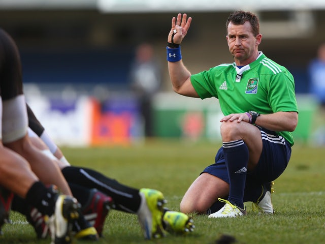 Nigel Owens announces retirement after refereeing 100 Tests