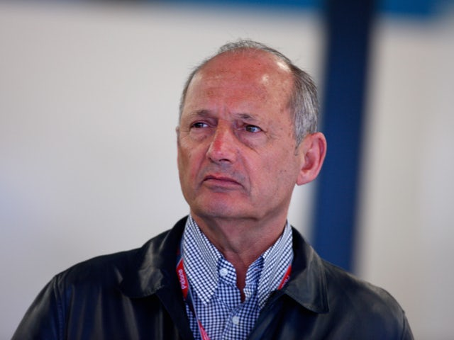 Ron Dennis of McLaren is seen during practice for the Australian Formula One Grand Prix at the Albert Park Circuit on March 25, 2011