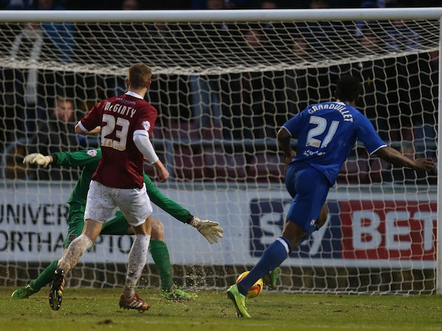 Result: Chesterfield see off Northampton