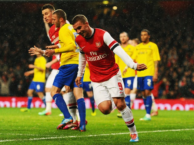 Result: Arsenal put four past Coventry