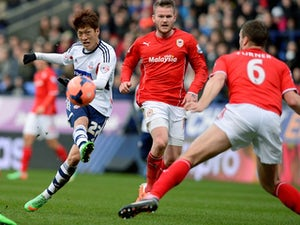 Goalless between Bolton, Cardiff