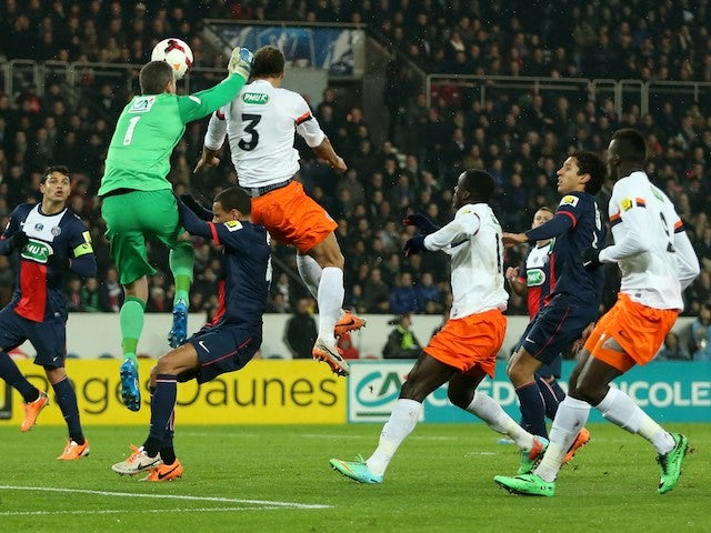 Result: PSG suffer cup upset