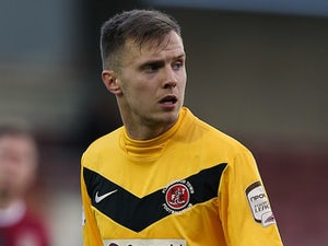Fleetwood striker Ball out for four months